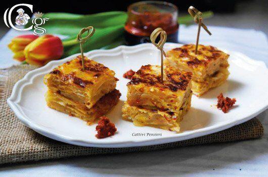 Tortilla di Patate, Cipolla e Nduja
