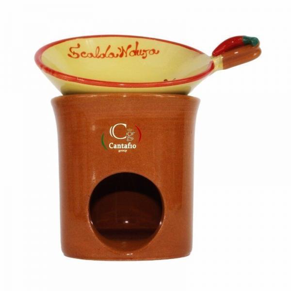 Scalda Nduja in ceramica artigianale medio
