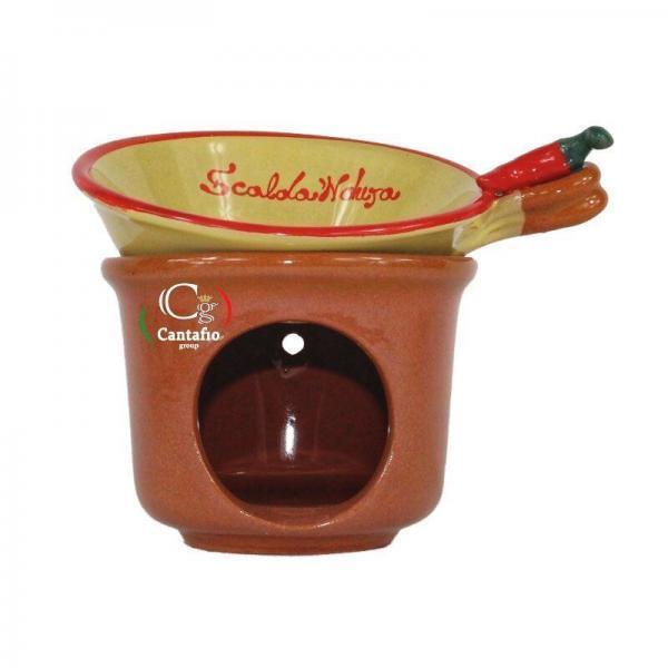 Scalda Nduja in ceramica artigianale mini