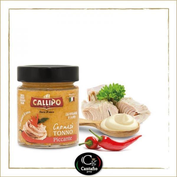 Crema di Tonno Callipo con peperoncino 135g