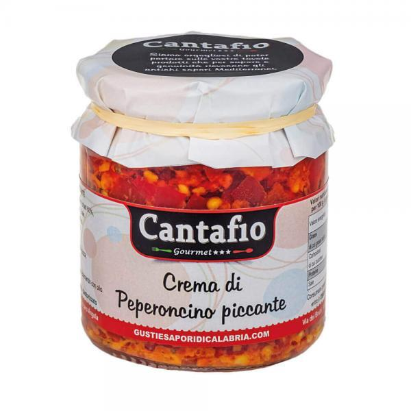 crema di peperoncino piccante 280 gr