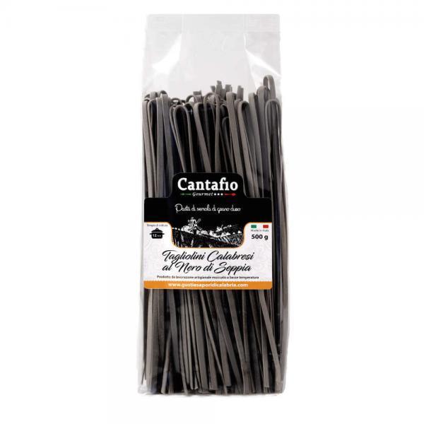 Tagliolini Calabresi al nero di seppia 500 gr
